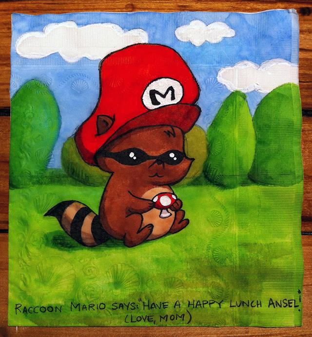 """Raccoon Mario"""