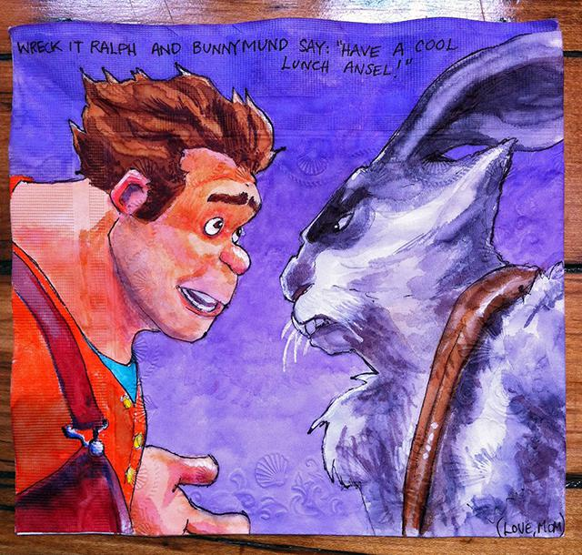 """Wreck-It Ralph and Bunnymund from Rise of the Guardians"""