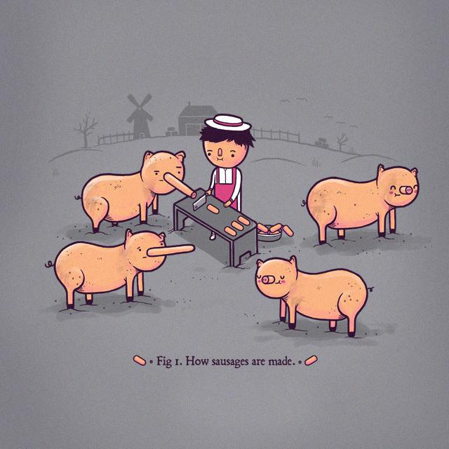 """How Sausages Are Made"""