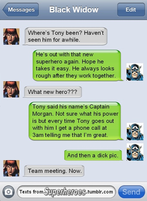 The Best Of 'Texts from Superheroes', A Superpowered Parody Site