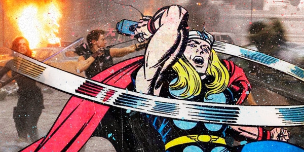 When Comic Books Meet Super Hero Films