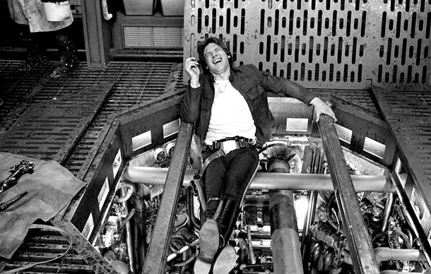 Amazing Behind The Scenes Photos From The Empire Strikes Back