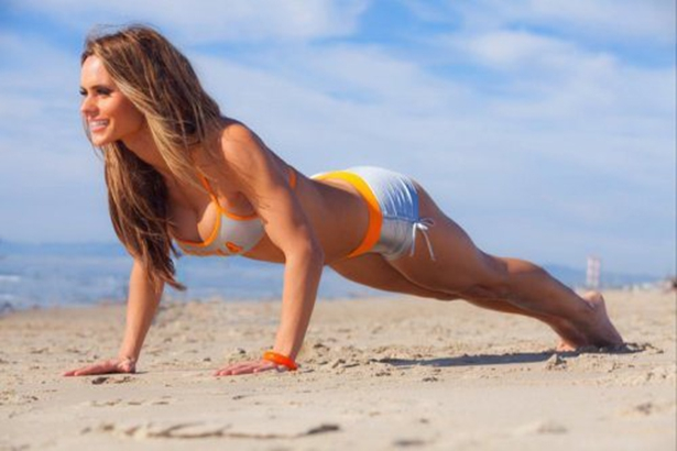 Sexy Beach Work Out