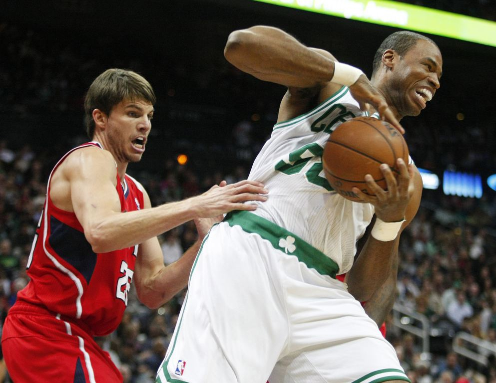 Boston Celtics center Jason Collins