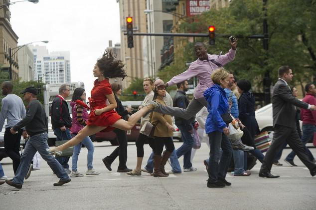 Dance Crossing The Street