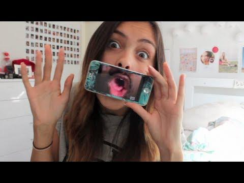 Girl Performs Funny Pickup Lines With Mouth-Transforming iPhone App