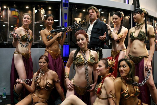Sexy Group Of Princess Leia's