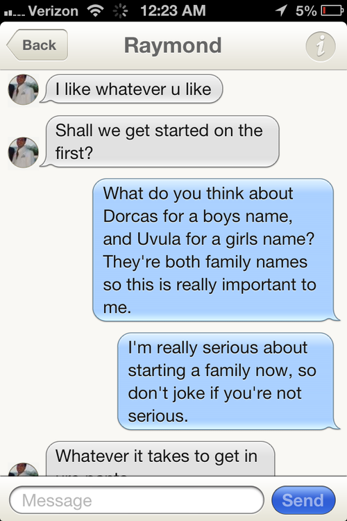 """How To Loose A Guy in One Tinder."" The Joys Of Trolling."