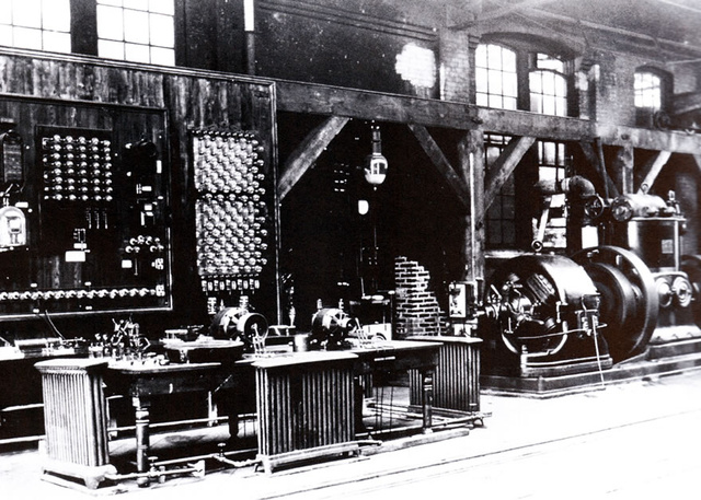 The laboratory where Tesla and Westinghouse developed apparatus for AC systems