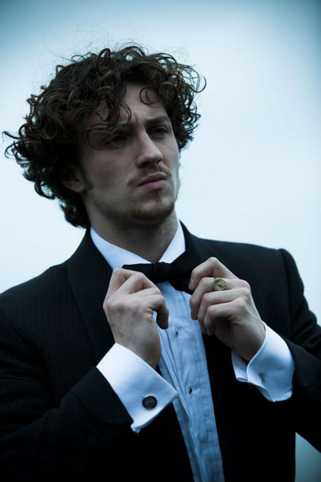 Actor Aaron Johnson Has Grungy Sex Appeal