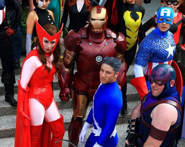 Scarlet Witch And Quicksilver Cosplay Ready for 'Avengers 2'