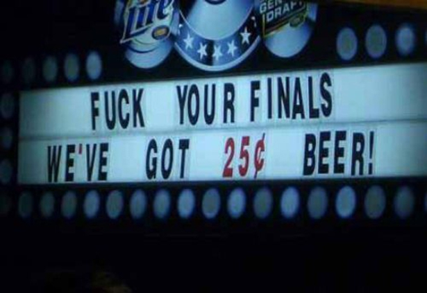 25 Cent Beer!