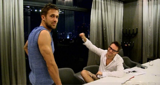 Behind the scenes Only God Forgives footage, with Ryan Gosling