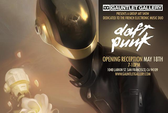 ReDiscovery, An Art Show Inspired by Daft Punk от Marinara за 07 may 2013