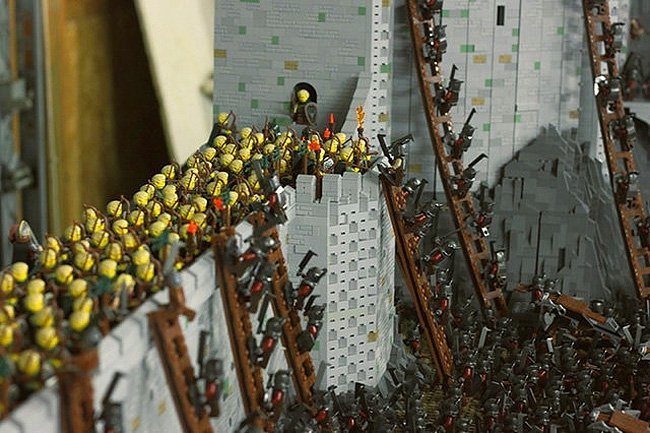 This Lego 'Battle Of Helm's Deep' Will Storm The Gates Of Your Heart