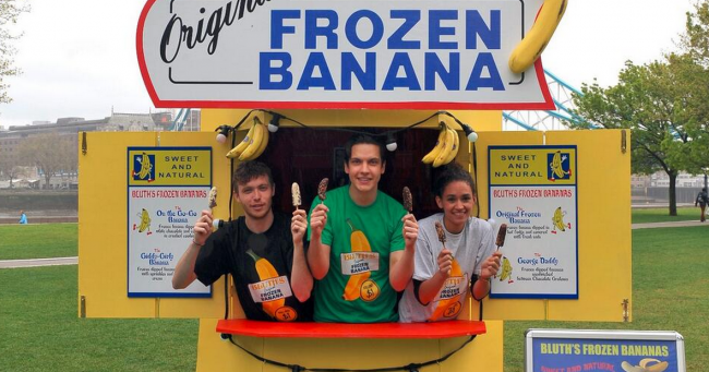 'Arrested Development's' Bluth's Original Frozen Banana Stands