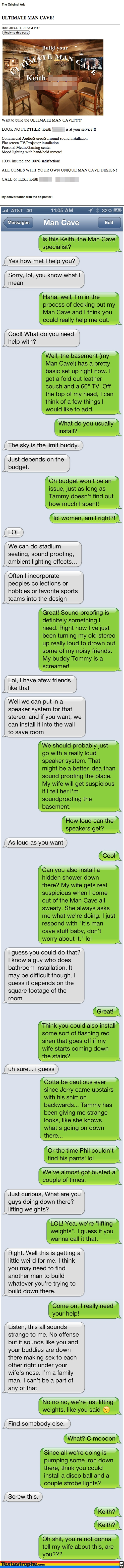 Text Trolling is the Best Invention in the World!