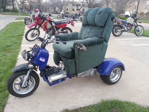 Recliner Motorcycle