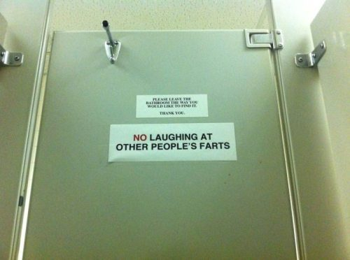No Laughing