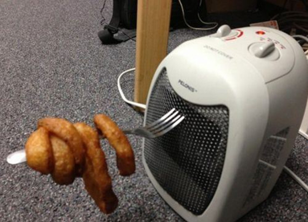 Reheating Onion Rings