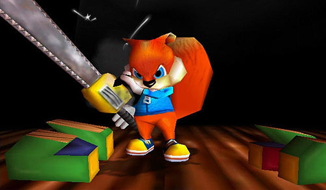 Conker's Bad Fur Day: Squirrel Vivisection And Pikachu Beating