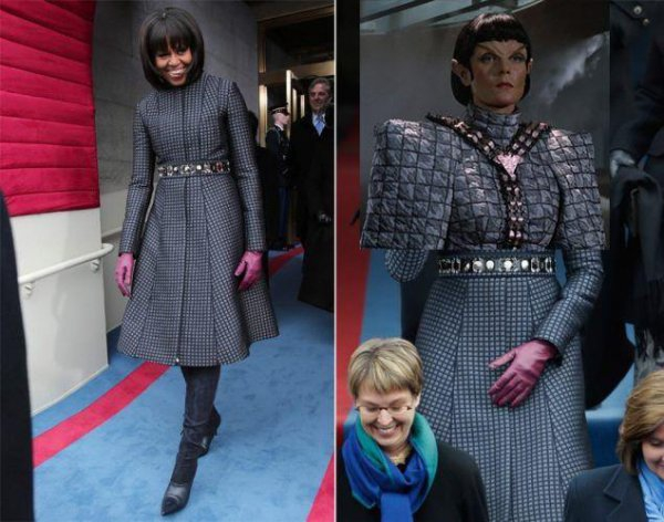 Michelle Obama or Romulan