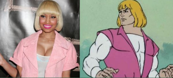 Nicki Minaj or He-Man