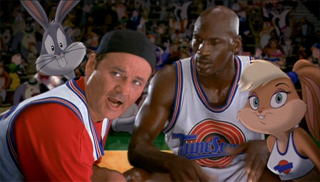 Bill Murray in Space Jam