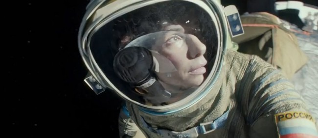 Gravity Starring George Clooney and Sandra Bullock