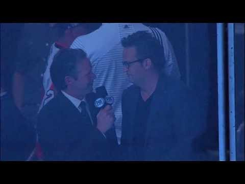 Matthew Perry Interviewed During Game 6