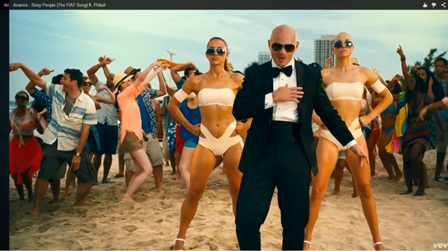 Video Breakdown: 'Sexy People (The FIAT Song)' by Arianna ft. Pitbull