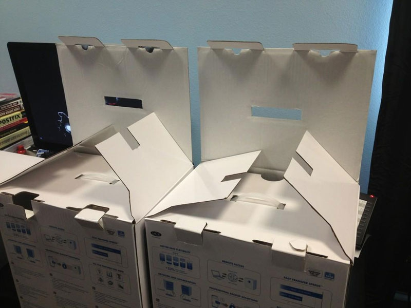 2. Evil Boxes Plotting Something Sinister