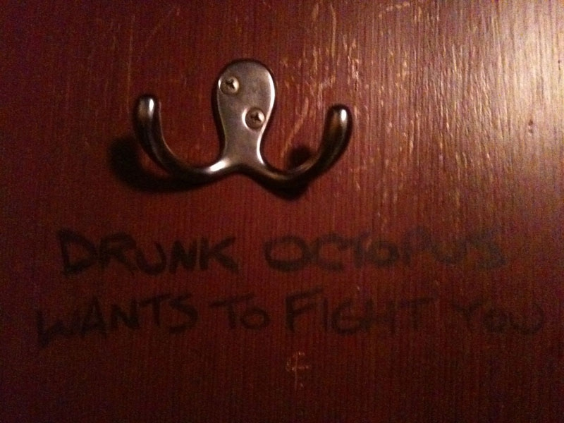 30. Drunk Octopus Wants to Fight You