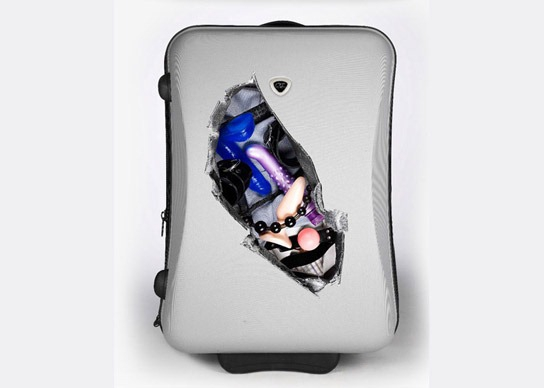 Creative suitcase stickers