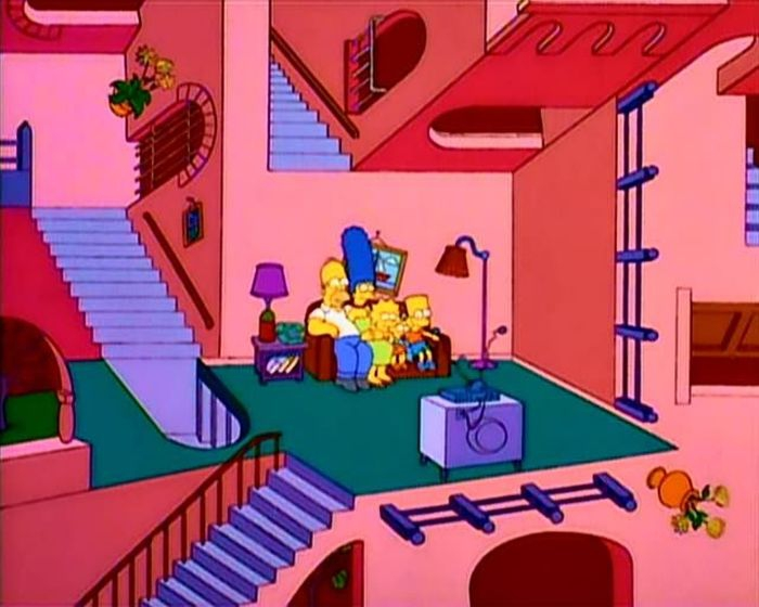 The Couch Gag Was Originally Designed As A Time Filler