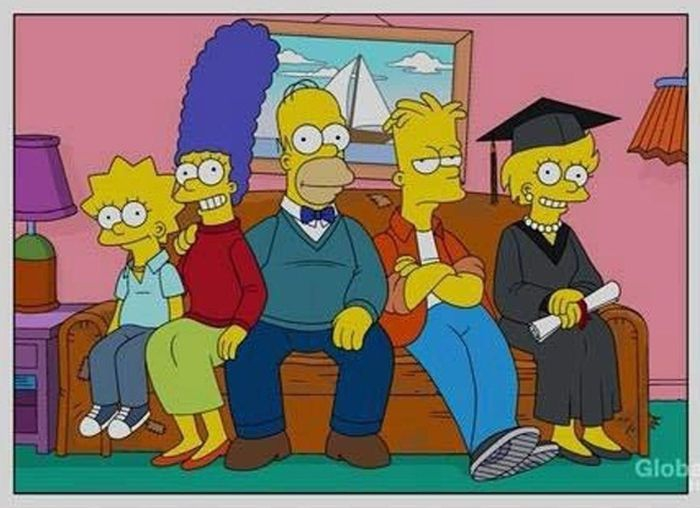 If The Simpsons Aged In Real Time...
