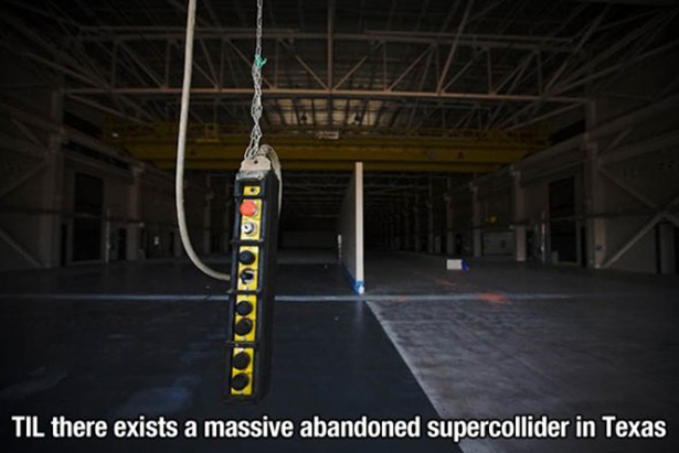 Abandoned Supercollider