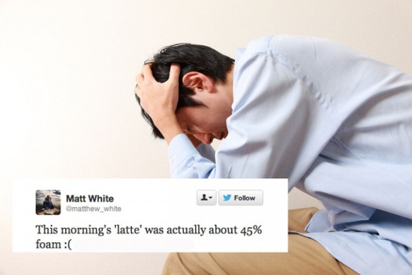 """The Horrific First World Problems"" Exposed On Twitter."