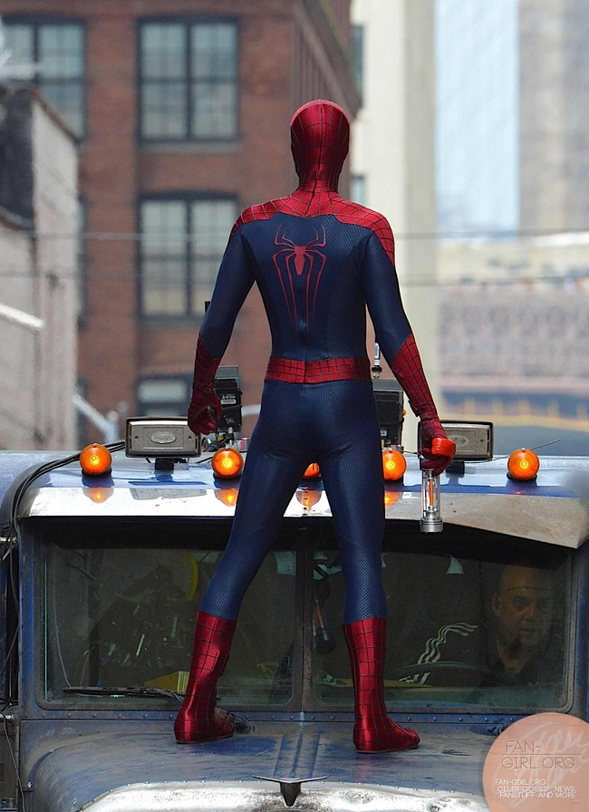 First Look At Paul Giamatti In 'The Amazing Spider-Man 2' Set Photos