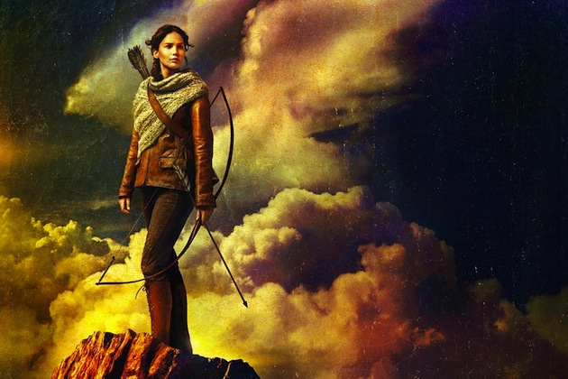 Jennifer Lawrence Symbolism-Heavy 'Hunger Games: Catching Fire' Poster