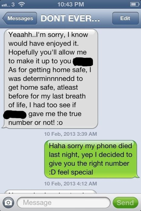 Why Girls Give Wrong Numbers
