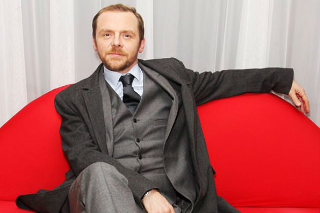Simon Pegg Brightens Up 'Star Trek Into Darkness'