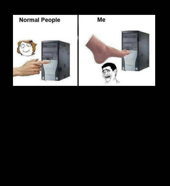 Normal People Vs. Me
