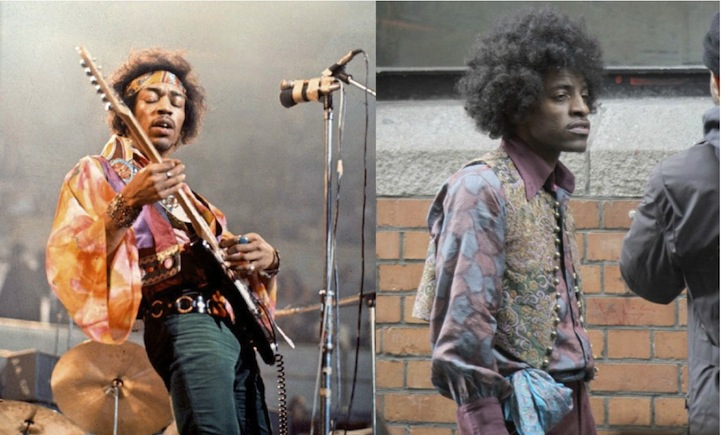 Jimi Hendrix (Andre 3000 in All Is By My Side)