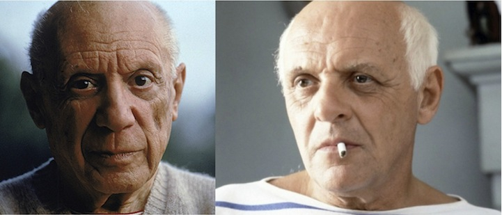 Pablo Picasso (Anthony Hopkins in Surviving Picasso)