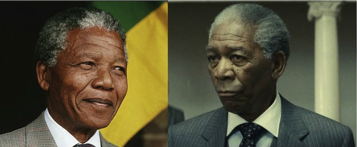 Nelson Mandela (Morgan Freeman in Invictus)