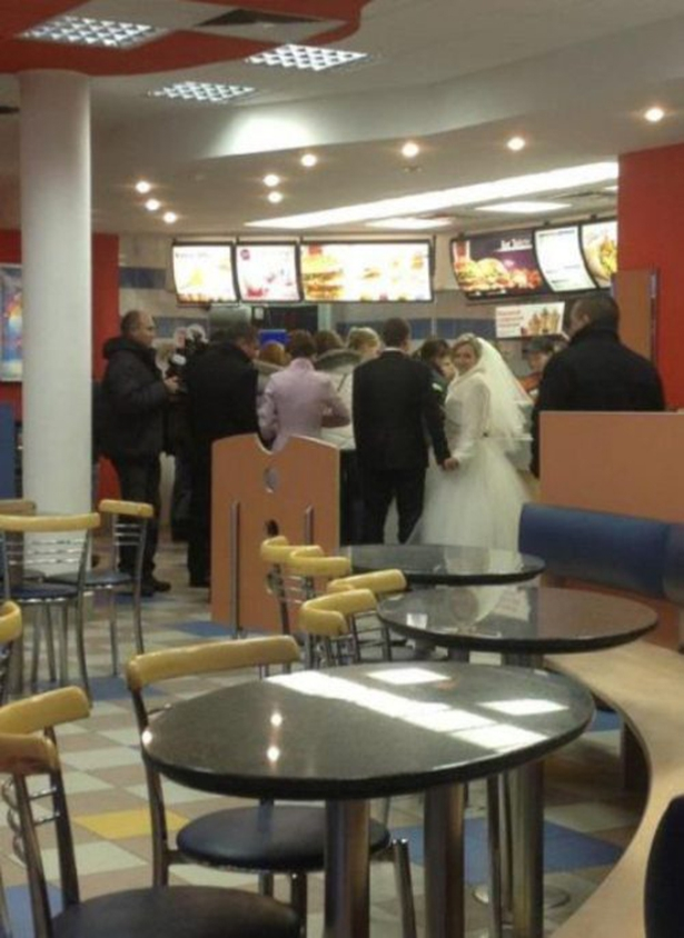 Wedding At McDonald's
