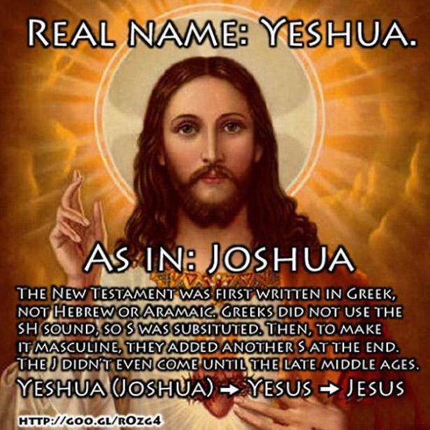 Real Name: Yeshua