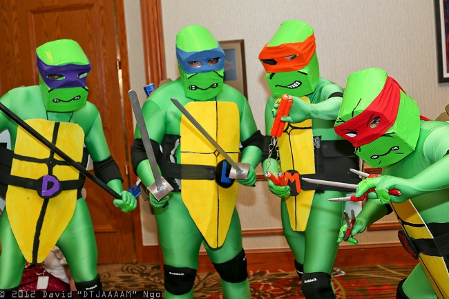 Cosplay Appreciation: Teenage Mutant Ninja Turtles Costumes