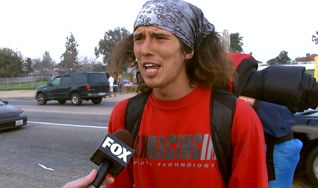 Hatchet-Wielding Hitchhiker Kai Wanted For Murder